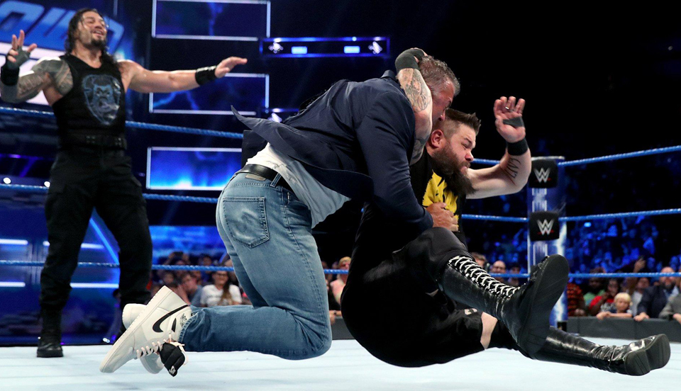 WWE SmackDown 2019年7月24日比赛视频