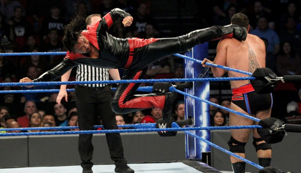 WWE SmackDown 2018年12月26日比赛视频
