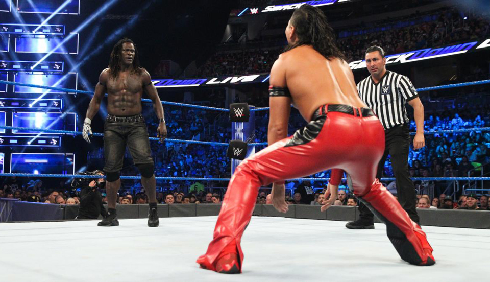 WWE SmackDown 2018年8月8日比赛视频