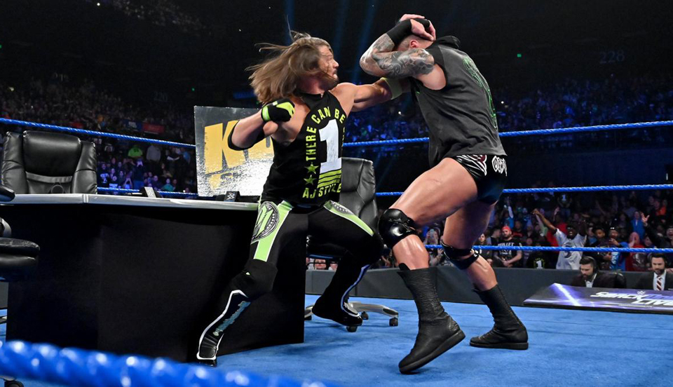 WWE SmackDown 2019年4月3日比赛视频