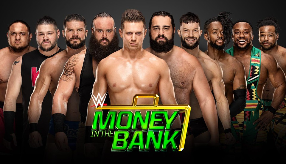 Money in the Bank 2018比赛视频